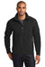 Eddie Bauer EB224 Mens Full Zip Microfleece Jacket Black Front