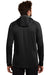 Eddie Bauer EB244 Mens Sport Full Zip Fleece Hooded Jacket Black Back