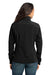 Eddie Bauer EB531 Womens Water Resistant Full Zip Jacket Black Back