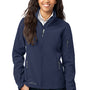 Eddie Bauer Womens Water Resistant Full Zip Jacket - River Navy Blue