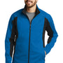 Eddie Bauer Mens Trail Water Resistant Full Zip Jacket - Expedition Blue