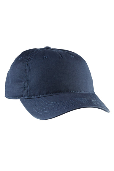 Econscious EC7087 Mens Adjustable Hat Pacific Blue Front