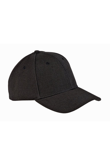 Econscious EC7090 Mens Adjustable Hat Black Front