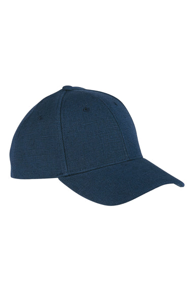 Econscious EC7090 Mens Adjustable Hat Navy Blue Front