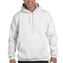 Hanes Mens Ultimate Cotton PrintPro XP Hooded Sweatshirt Hoodie - White
