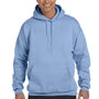 Hanes Mens Ultimate Cotton PrintPro XP Hooded Sweatshirt Hoodie - Light Blue