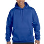 Hanes Mens Ultimate Cotton PrintPro XP Hooded Sweatshirt Hoodie - Deep Royal Blue