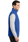Port Authority F219 Mens Full Zip Fleece Vest Royal Blue Side