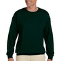 Hanes Mens Ultimate Cotton PrintPro XP Crewneck Sweatshirt - Deep Forest Green