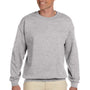 Hanes Mens Ultimate Cotton PrintPro XP Crewneck Sweatshirt - Light Steel Grey