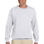 Hanes Mens Ultimate Cotton PrintPro XP Crewneck Sweatshirt - Ash Grey