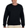 Hanes Mens Ultimate Cotton PrintPro XP Crewneck Sweatshirt - Black