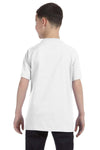 Gildan G500B Youth Short Sleeve Crewneck T-Shirt White Back