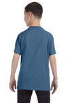 Gildan G500B Youth Short Sleeve Crewneck T-Shirt Indigo Blue Back