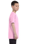 Gildan G500B Youth Short Sleeve Crewneck T-Shirt Light Pink Side