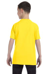 Gildan G500B Youth Short Sleeve Crewneck T-Shirt Daisy Yellow Back