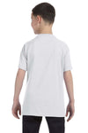 Gildan G500B Youth Short Sleeve Crewneck T-Shirt Ash Grey Back