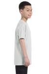 Gildan G500B Youth Short Sleeve Crewneck T-Shirt Ash Grey Side