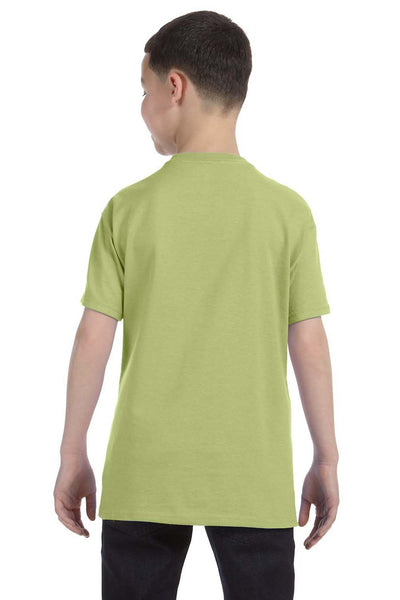 Gildan G500B Youth Short Sleeve Crewneck T-Shirt Kiwi Green Back