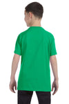 Gildan G500B Youth Short Sleeve Crewneck T-Shirt Irish Green Back