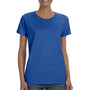 Gildan Womens Short Sleeve Crewneck T-Shirt - Royal Blue