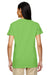Gildan G500VL Womens Short Sleeve V-Neck T-Shirt Lime Green Back