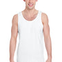 Gildan Mens Tank Top - White
