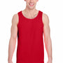 Gildan Mens Tank Top - Red