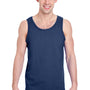 Gildan Mens Tank Top - Navy Blue