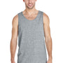 Gildan Mens Tank Top - Sport Grey