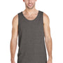 Gildan Mens Tank Top - Heather Graphite Grey