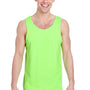 Gildan Mens Tank Top - Neon Green