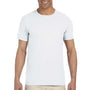 Gildan Mens Softstyle Short Sleeve Crewneck T-Shirt - White