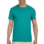 Gildan Mens Softstyle Short Sleeve Crewneck T-Shirt - Jade Dome Green