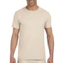 Gildan Mens Softstyle Short Sleeve Crewneck T-Shirt - Natural