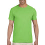 Gildan Mens Softstyle Short Sleeve Crewneck T-Shirt - Lime Green
