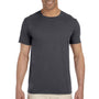 Gildan Mens Softstyle Short Sleeve Crewneck T-Shirt - Charcoal Grey