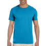 Gildan Mens Softstyle Short Sleeve Crewneck T-Shirt - Sapphire Blue