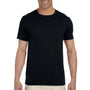 Gildan Mens Softstyle Short Sleeve Crewneck T-Shirt - Black