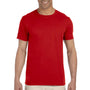 Gildan Mens Softstyle Short Sleeve Crewneck T-Shirt - Red