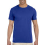 Gildan Mens Softstyle Short Sleeve Crewneck T-Shirt - Royal Blue