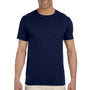 Gildan Mens Softstyle Short Sleeve Crewneck T-Shirt - Navy Blue