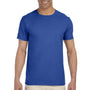 Gildan Mens Softstyle Short Sleeve Crewneck T-Shirt - Metro Blue