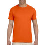 Gildan Mens Softstyle Short Sleeve Crewneck T-Shirt - Orange