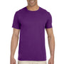 Gildan Mens Softstyle Short Sleeve Crewneck T-Shirt - Purple