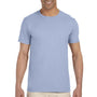 Gildan Mens Softstyle Short Sleeve Crewneck T-Shirt - Light Blue