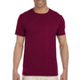 Gildan Mens Softstyle Short Sleeve Crewneck T-Shirt - Maroon