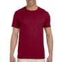 Gildan Mens Softstyle Short Sleeve Crewneck T-Shirt - Antique Cherry Red