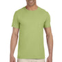 Gildan Mens Softstyle Short Sleeve Crewneck T-Shirt - Kiwi Green