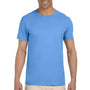 Gildan Mens Softstyle Short Sleeve Crewneck T-Shirt - Carolina Blue